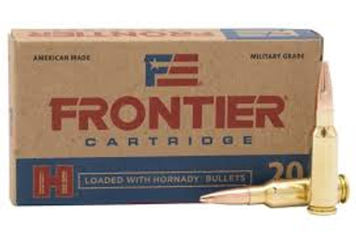 Frontier Ammunition 6.5 Grendal - 123 Grain Full Metal Jacket - 200 Rounds - Case