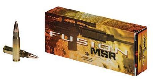 Federal Fusion Ammunition 223 Rem - 62 Grain Fusion MSR - 200 Rounds - Case