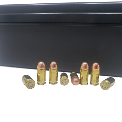 Miwall New Ammunition - 380 Auto - 100 Grain Full Metal Jacket - 500 Rounds W/ Ammo Can