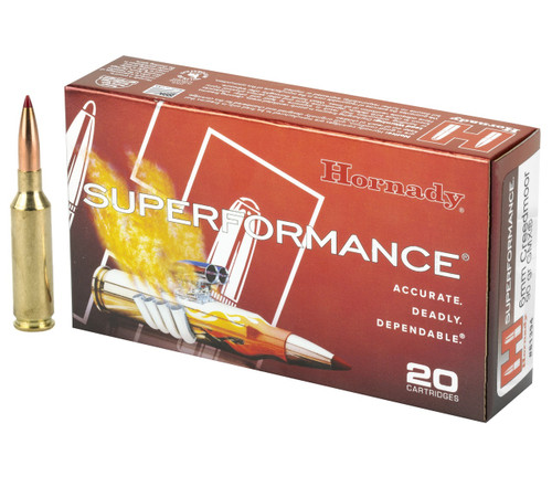 Hornady Superformance Ammunition - 6 MM Creedmoor - 90 Grain GMX - 100 Rounds W/ Free Ammo Can