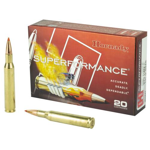 Hornady Superformance Ammunition - 270 Winchester - 130 Grain SST - 200 Rounds - Case