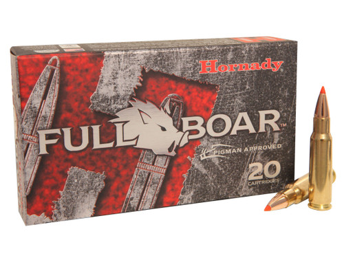 Hornady Full Boar Ammunition - 6.8 Remington SPC - 100 Grain GMX Lead Free - 200 Rounds  - Case