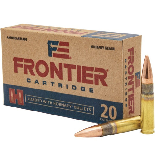 Frontier Ammunition - 300 AAC Blackout - 125 Grain Full Metal Jacket - 200 Rounds - Case