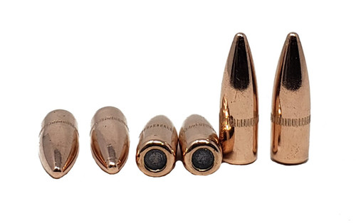 "Berry's Manufacturing - 223 Rem/ 5.56 MM - .224"" Diameter - 55 Grain Full Metal Jacket WC - 2000 Projectiles"