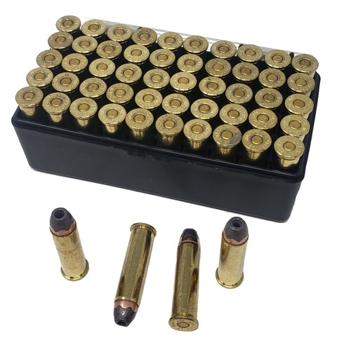 Miwall New Ammunition - 357 Mag - 158 Grain Semi Jacketed Hollow Point - 100 Rounds W/ Free Ammo Can