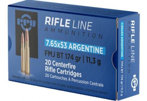 Prvi Partizan Ammunition - 7.65x53 Argentine - 174 Grain Full Metal Jacket - 100 Rounds W/ Free Ammo Can