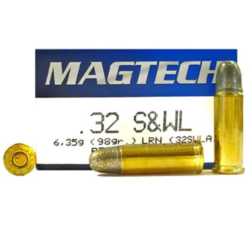 Magtech Ammunition - 32 S&W Long - 98 Grain Lead Round Nose - 200 Rounds W/ Free Ammo Can