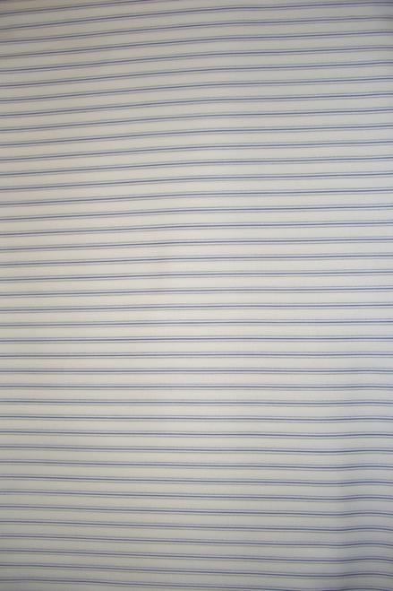 Top Quality Italian Superfine Cotton (Atiku) - White and Blue - ISC02