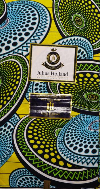 Julius Holland Wax Block Print - JH008
