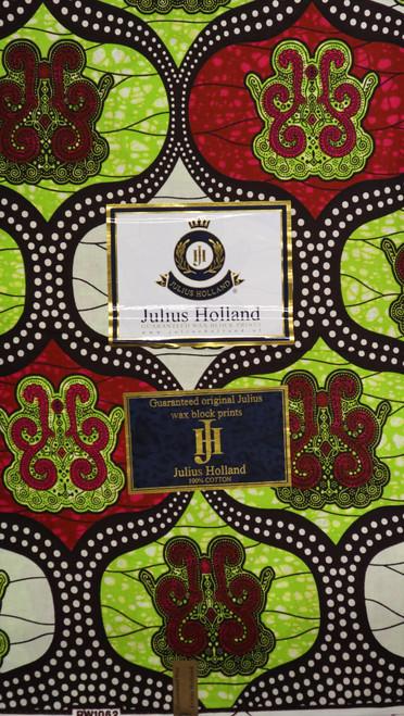 Julius Holland Wax Block Print - JH011