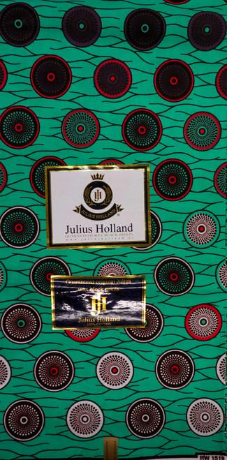 Julius Holland Wax Block Print - JH016