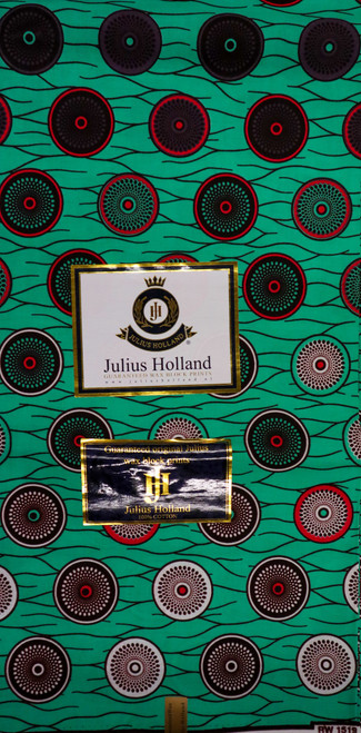 Julius Holland Wax Block Print - JH016