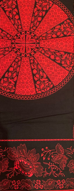 100% Cotton Wax Print width 45 inches by 6 yards