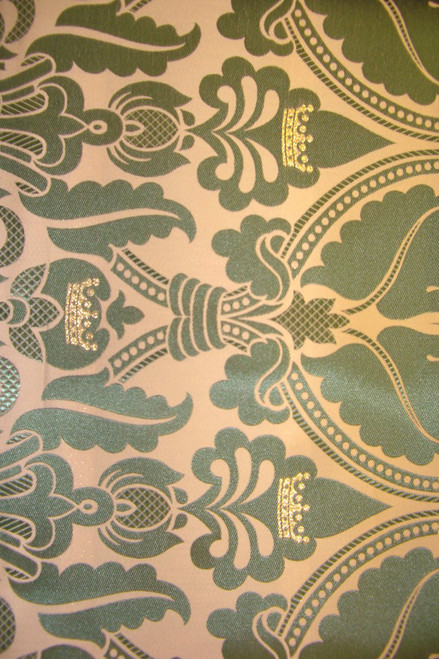 Damask - Creem/ olive