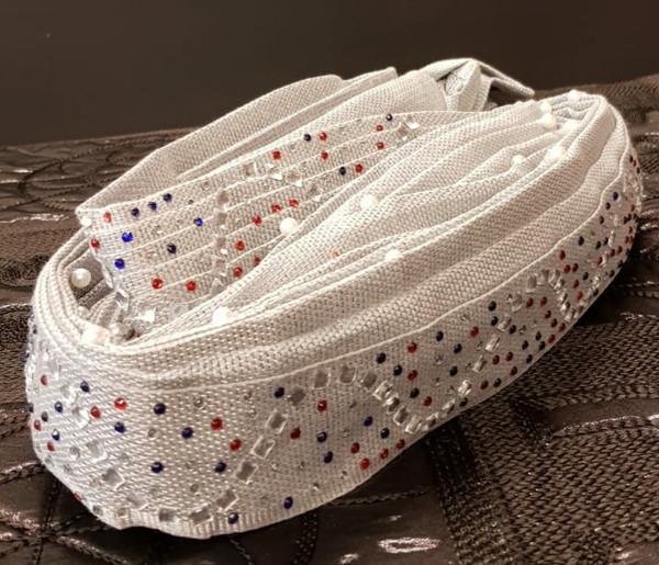 Aso Oke Head Tie READY MADE - ASOR04