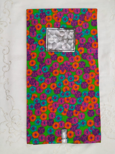 Veritable real wax 100% cotton 1 piece is 6 yards by 45 inches