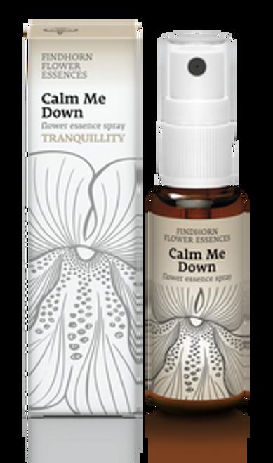 Findhorn Flower Essences Spray : Calm Me Down