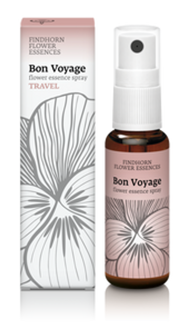 Findhorn Flower Essences Spray : Bon Voyage