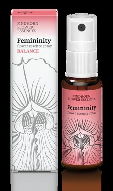 Findhorn Flower Essences Spray : Femininity