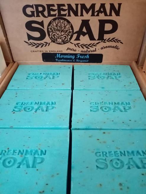 Greenman Soap - Morning Fresh - Frankincense & Bergamot