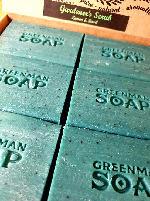Greenman Soap - Gardener's Scrub - Lemon & Basil