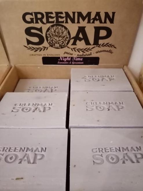 Greenman Soap - Night Time - Lavender & Geranium