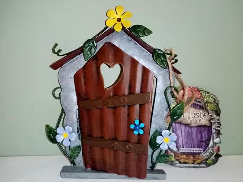 Flower Bed Terrace Fairy Door