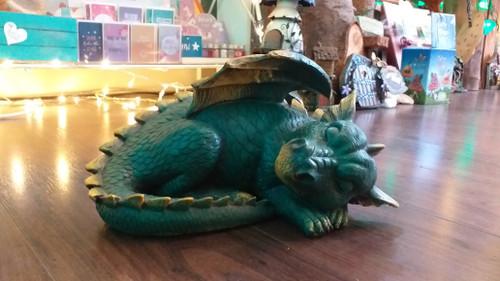 Large Sleeping Dragon, wings spread.