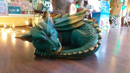 Large Sleeping Dragon, wings tucked in.