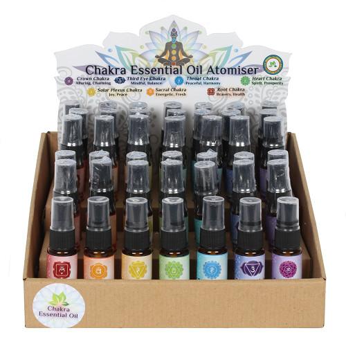 Chakra Essential Oil Atomiser: Sacral Chakra/Orange
