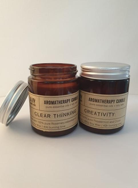 Aromatherapy Jar candle 40hrs - Creativity
