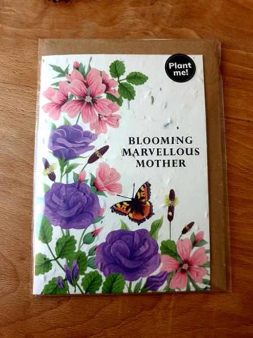 Seed Card - Blooming Marvellous Mother