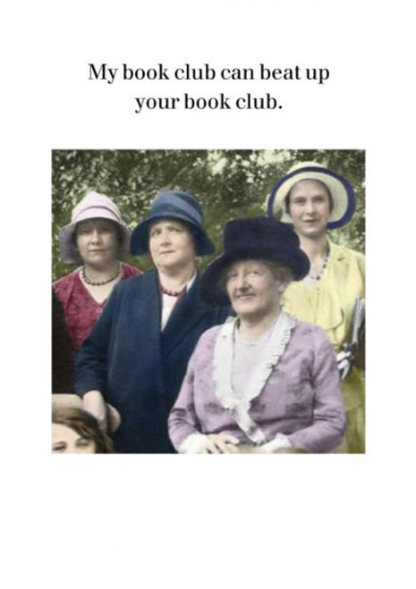 Card - My Book Club