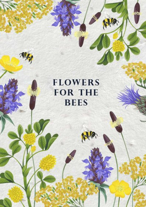 Seed Card - For the Bees