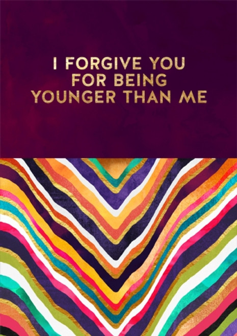 Card - Younger than Me