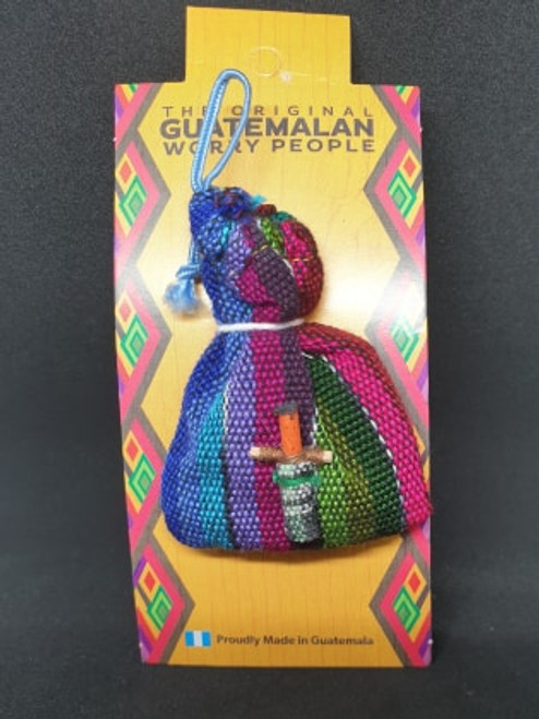 Guatemalan Worry People (Bag)
