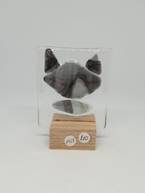 Cat Glass Art Stand (by Mauralen)