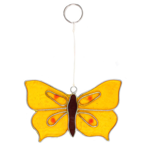 Suncatcher - Yellow Brimstone Butterfly