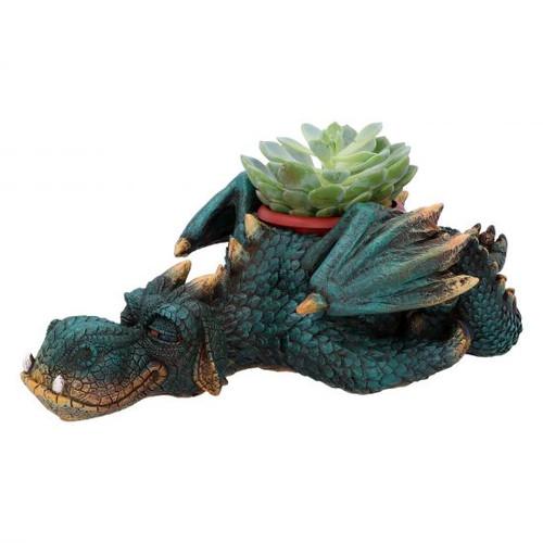 Dragon Planter: Dozing