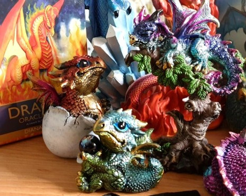 Dragon's Gift small figurine (green)