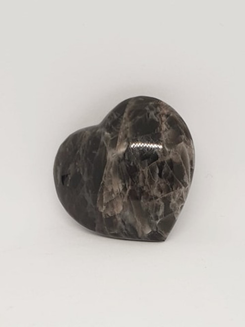 Crystal Heart - Black Moonstone (2)