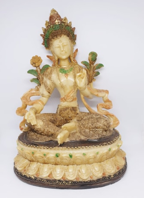 Green Tara Figurine