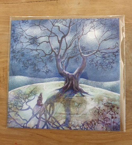 Card - Moonlit Hare