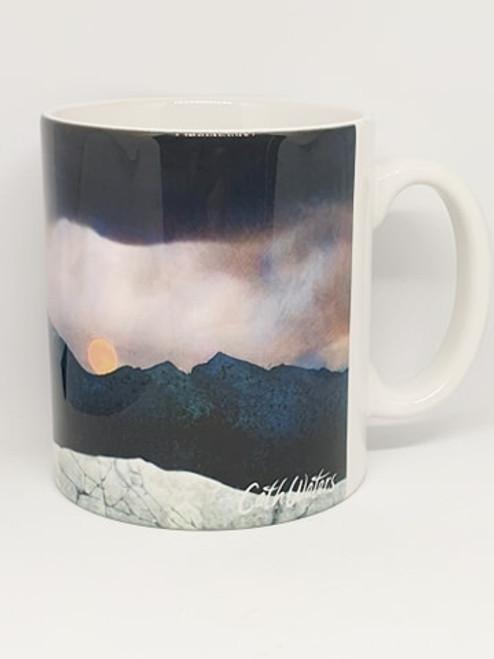 Landscape Mug- Cuillin Moon Rise, Isle of Skye