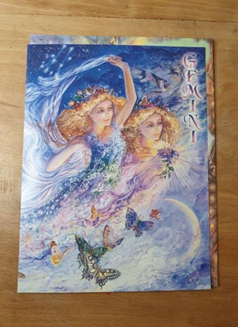 Zodiac Birthday Card - Gemini
