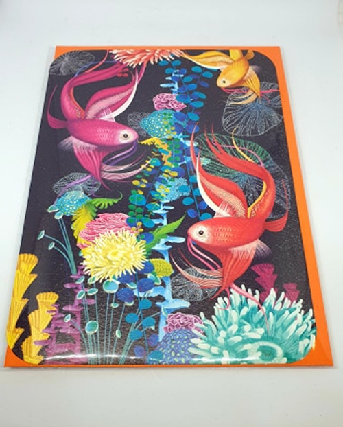 Tropical Fish Card