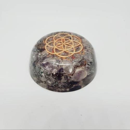 Orgonite Desk Dome - Amethyst