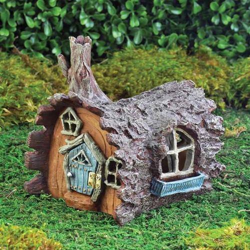 Fairy House - Woodland Log