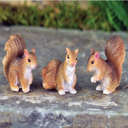 Fairy Garden - Squirrels (set of 3)