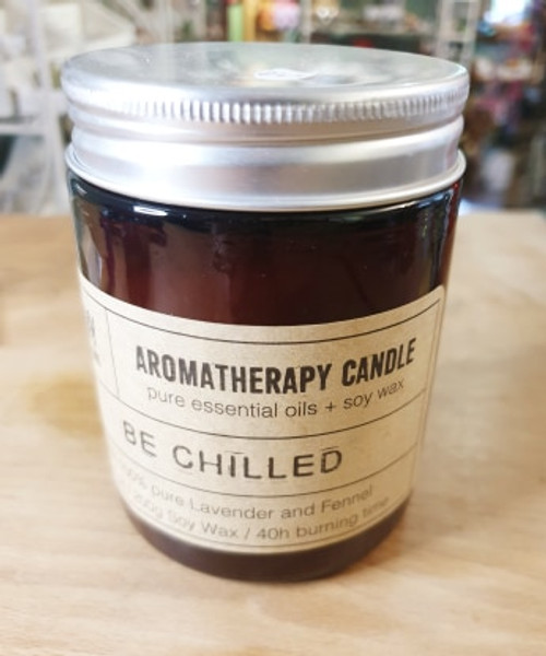 Aromatherapy Jar candle 40hrs - Be Chilled